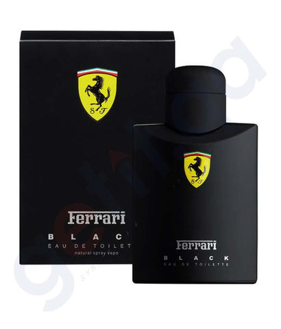 PERFUME - FERRARI BLACK EDT 125ML FOR MEN