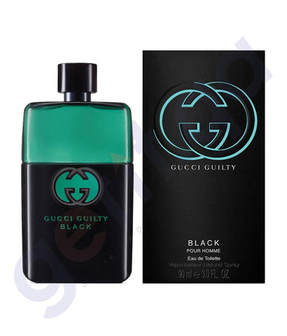 PERFUME - GUCCI 90ML GUILTY BLACK EDT FOR MEN