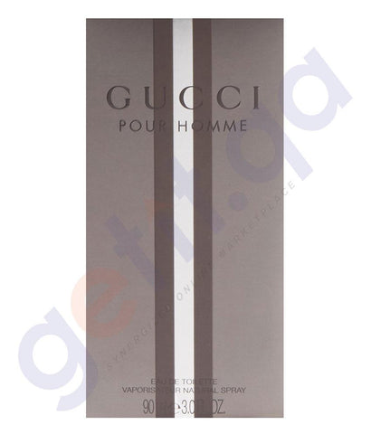 PERFUME - GUCCI 90ML POUR HOMME EDT SPRAY FOR MEN