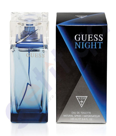 PERFUME - GUESS 100ML NIGHT EDT FOR MEN