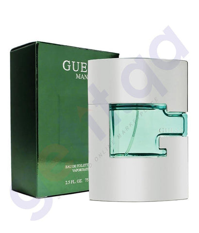 PERFUME - GUESS 75ML MAN GREEN EDT FOR MEN