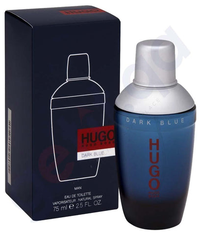 PERFUME - HUGO BOSS DARK BLUE EDT 75ML FOR MEN