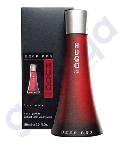 PERFUME - HUGO BOSS DEEP RED  EDP 90ML FOR WOMEN