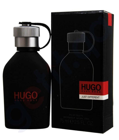 PERFUME - HUGO BOSS  JUST DIFFERENT EDT 75ML FOR MEN
