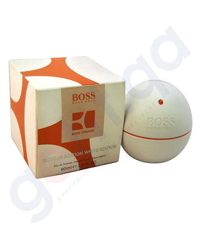 PERFUME - HUGO BOSS WHITE EDITION EDT 90ML FOR MEN