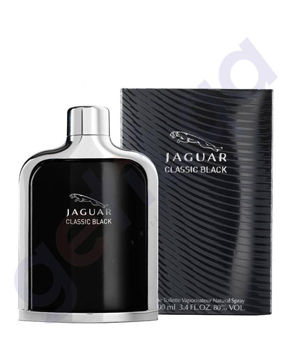 PERFUME - JAGUAR 100ML CLASSIC BLACK EDT FOR MEN