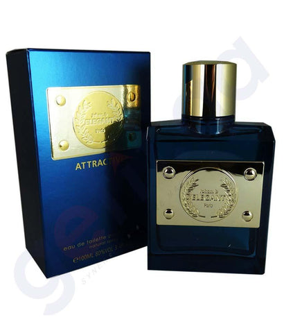 PERFUME - JOHAN B ELEGANT ATTRACTIVE EDT 100ML FOR MEN