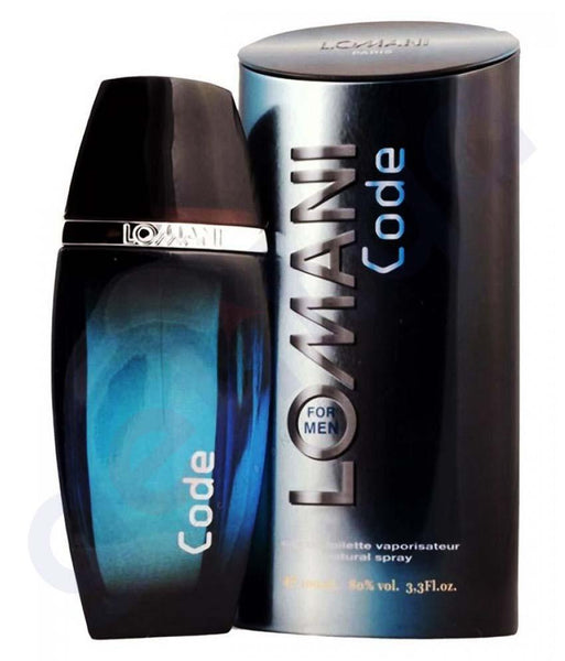 PERFUME - LOMANI CODE EDT FOR MEN 100ML