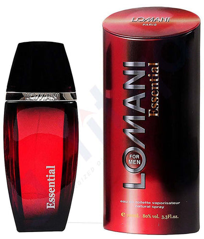 PERFUME - LOMANI ESSENTIAL EDT FOR MEN 100ML