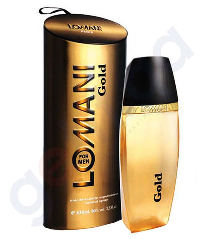 PERFUME - LOMANI GOLD EDT FOR MEN 100ML