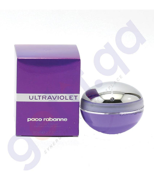 PERFUME - PACO RABANNE ULTRA VIOLET EDP 80ML FOR WOMEN