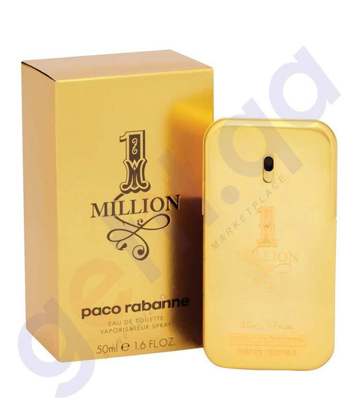 PERFUME - PACORABANNE 50ML ONE MILLION EDT FOR MEN