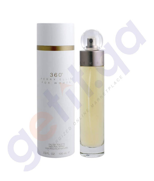 PERFUME - PERRY ELLIS 100ML -360 PERRY ELLIS EDT FOR WOMEN