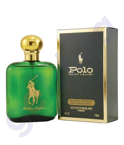 PERFUME - RALPH LAUREN 118ML POLO GREEN EDT FOR MEN
