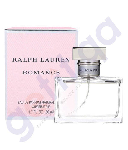 PERFUME - RALPH LAUREN 50ML ROMANCE EDP FOR WOMEN