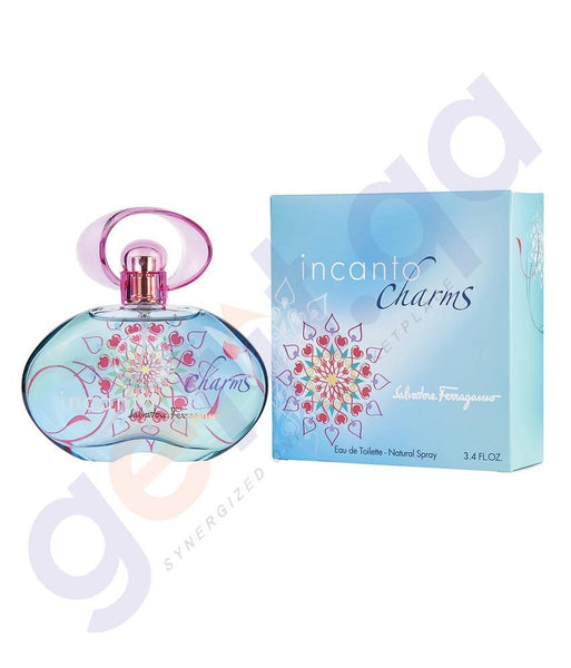 PERFUME - SALVATORE FERGAMO 100ML INCANTO CHARM EDT FOR WOMEN