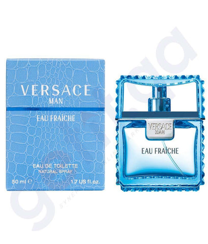 PERFUME - VERSACE EAU FRAICHE EDT 50ML FOR MEN