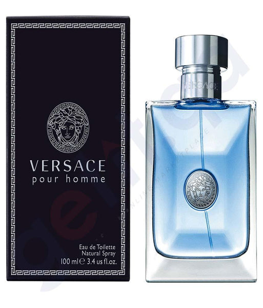 PERFUME - VERSACE POUR HOMME EDT 100ML FOR MEN