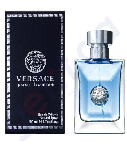 PERFUME - VERSACE POUR HOMME EDT 50ML FOR MEN