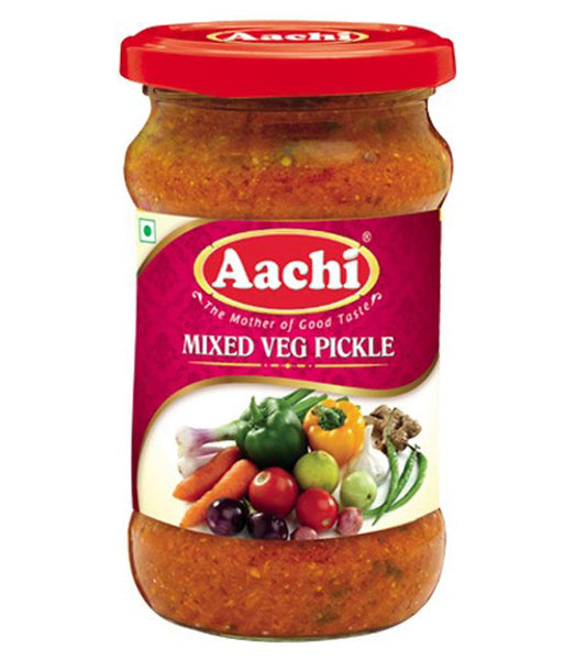 PICKLE - AACHI MIX.VEGETABLE PICKLE 300GM