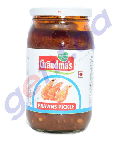 PICKLE - GRANDMAS PRAWNS PICKLE - 400GM