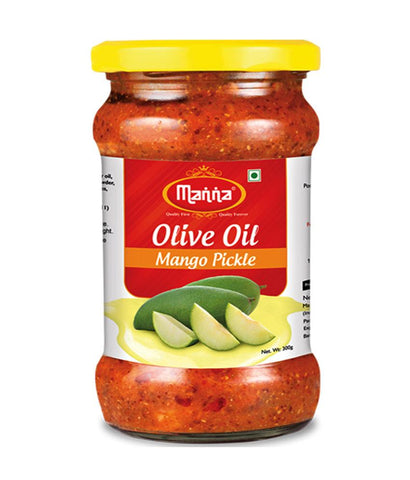 PICKLE - MANNA MANGO PICKLE (IN OLIVE OIL) 300GM