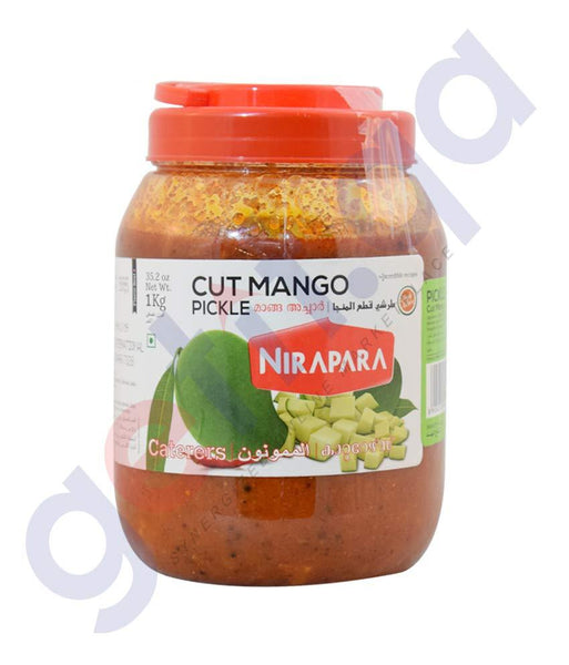 PICKLE - NIRAPARA CUT MANGO PICKLE 1KG