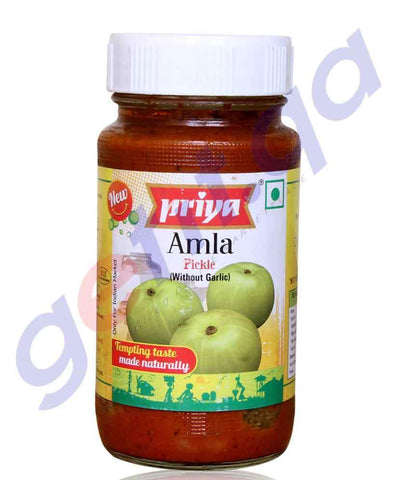 PICKLE - PRIYA  AMLA PICKLE - 300 GM