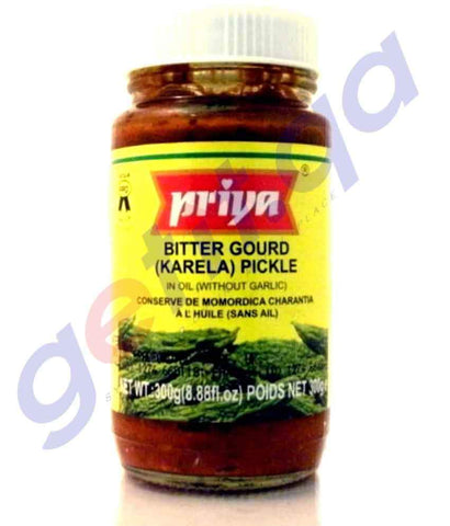 PICKLE - PRIYA  BITTER GOURD PICKLE - 300GM