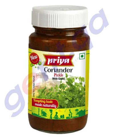 PICKLE - PRIYA CORIANDER PICKLE - 300 GM
