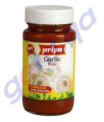 PICKLE - PRIYA  GARLIC PICKLE - 300 GM
