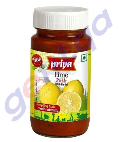 PICKLE - PRIYA  LIME PICKLE - 300 GM