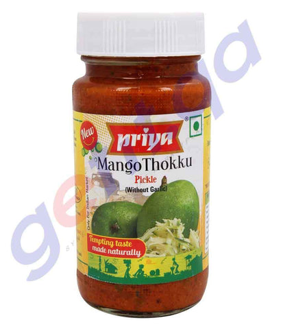 PICKLE - PRIYA PICKLE MANGO THOKU - 300GM