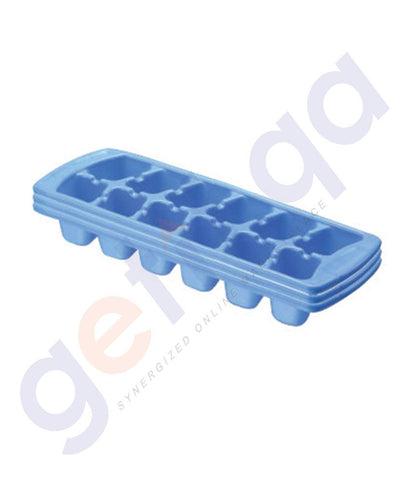 Plastic Products - ICE CUBE TRAY 3 PC. SET  PACK OF 2 - 1609/3