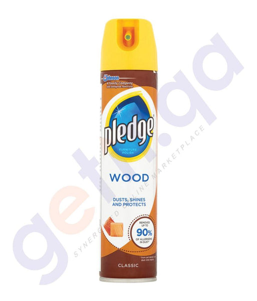 POLISH - PLEDGE WOOD CLASSIC 250ML