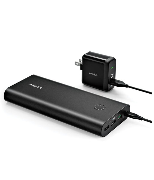 Power Bank - Anker PowerCore+ 26800mAh With QC3.0 Charger  B1374K11 - Black
