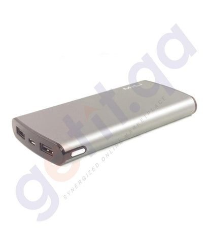Power Bank - MiLi Power Miracle III (Qualcomm Quick Charging Technology 3.0) 10000mAh  - HB-Q10  Grey