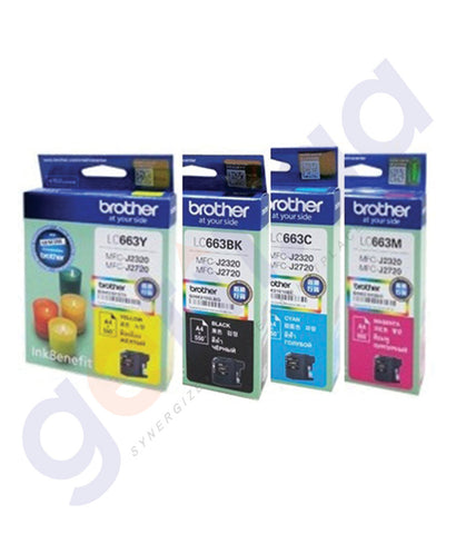 BUY BROTHER CARTRIDGES SET FOR PRINTER MFC-J2320 ONLINE IN QATAR