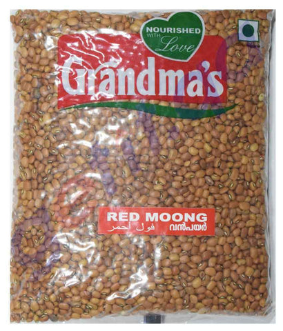 Pulses - GRANDMAS RED MOONG (INDIAN) - 1KG