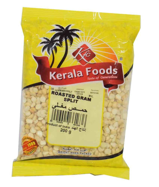 Pulses - ROASTED SPLIT GRAM - 200 GMS BY KERALA FOODS