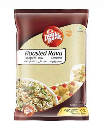 RAVA - DOUBLE HORSE ROASTED RAVA - 1KG