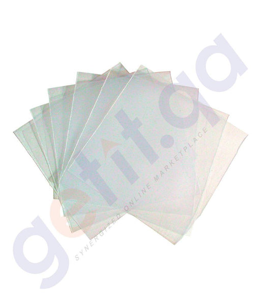 RECORDABLE CD - AMITCO CD SLEEVES  PVC 100PCS -  PKT