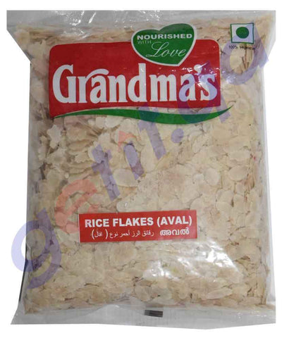 RICE FLAKES - GRANDMAS RICE AVAL - 300GM