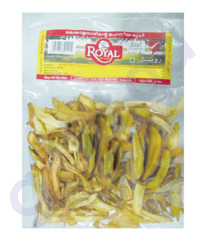 RICE - JACKFRIUT CHIPS  125GMS BY ROYAL