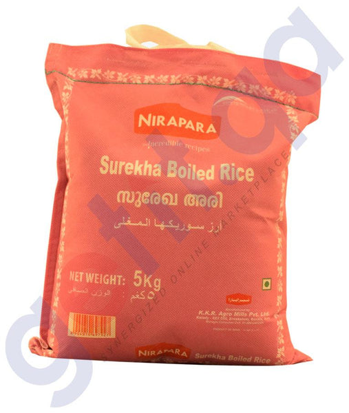 RICE - NIRAPARA SUREKHA BOILED  RICE 5KG