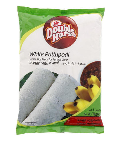 RICE POWDER - DOUBLE HORSE WHITE PUTTU PODI- 1KG