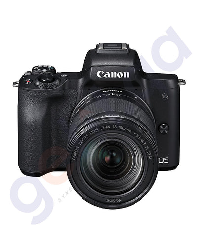 BUY CANON EOS M50 M18-150 BLK DSLR ONLINE IN DOHA QATAR