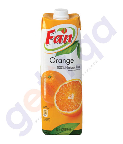 BUY BEST PRICED FAN ORANGE JUICE 1LTR ONLINE IN QATAR