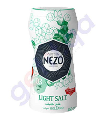 Buy Nezo Salt- Light Salt 450g Price Online in Doha Qatar