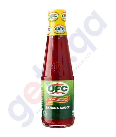 SAUCES - UFC BANANA SAUCE REGULAR